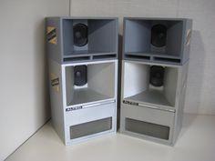 ALTEC 816A 1/3サイズ FC204-8A Audiophile Speakers, Hifi Audio, Audio Speakers, Home Theater Sound System, Home Theatre Sound, Speaker Plans, Speaker Box Design, Altec Lansing, Horn Speakers