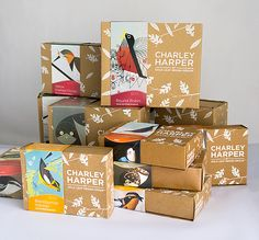 Charley Harper Sculpture Packaging by Kevin McGroarty, via Behance
