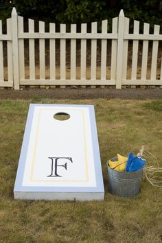 Cornhole is a great game to play outside on the lawn when it's nice out or while tailgating. Prefect for those young and old!