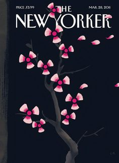 Christoph Niemann - Dark Spring (2011) [The New Yorker Cover, MAR 28 2011]