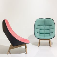 Doshi Levien bases Uchiwa armchair for Hay on a traditional Japanese fan | #chair