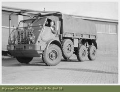 YA-328 Artillery tractor with .50 mount
