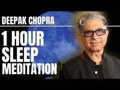 Deepak Meditation, Deep Sleep Meditation, Breathing Meditation, Meditation Practices, Meditation Music, Adhd Strategies, I Cant Sleep, Deepak Chopra, Bedtime Stories