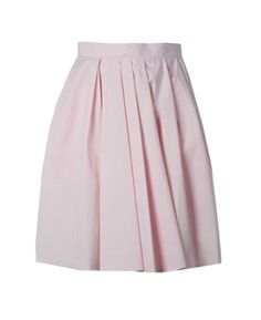 Oxygen | Carven Technical Poplin Skirt Light Pink  http://www.oxygenboutique.com/Technical-Poplin-Skirt-Light-Pink.aspx  #carven #skirt #pink #fashion #ootd #style #trend