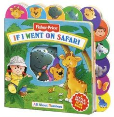 If I Went on Safari: All about Numbers (Fisher-Price Little Pockets PlayBooks) [Board book]