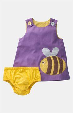 Mini Boden Appliqué Dress (Infant) | Nordstrom