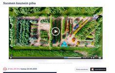 Suomen kaunein piha 2015 MTV 3 21.4.2015 Vanha pihapiiri Ylikiimingissä http://www.mtv.fi/lifestyle/ohjelmat/suomen-kaunein-piha/kohteet/artikkeli/kolmas-jakso-vanha-pihapiiri-ylikiimingissa/5016078
