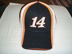 Tony Stewart Black/Orange/White #14 Bass Pro Shops NASCAR NWT Hat! L@@K