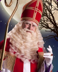 Dutch Christmas tradition of Sinterklaas