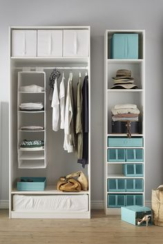 If chaos is king inside your drawers or wardrobe, the IKEA SKUBB storage series puts you back in charge. The boxes and hanging organizers in different sizes mean you can divide and rule your clothes, shoes and accessories so you find everything fast. The boxes also fold flat when not in use so you can store them away easily.