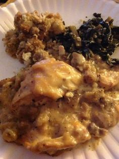 Crock Pot Chicken, Gravy and Stuffing - this was  yummy and so simple.