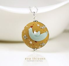Eva Thissen - A Ride with Mom, hand made, polymer clay