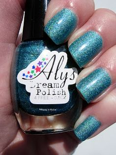 Aly's Dream Polish ~ Ocean (#51)  $15 shipped.PENDING