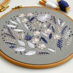 Embroidery Patterns Plants any Embroidery Designs Jeans Back Pocket since Embroidery Hoop Buy Online. Embroidery Patterns Cat any Embroidery Designs Leaves Embroidery Store, Crewel Embroidery Kits, Learn Embroidery, Hand Embroidery Patterns, Ribbon Embroidery, Cross Stitch Embroidery, Machine Embroidery, Embroidery Supplies, Wedding Embroidery