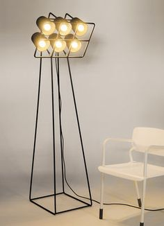 Multilamp / H 180 cm | Seletti | Stehleuchte                                                                                                                                                     Mehr