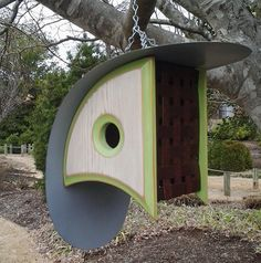 Hey, I found this really awesome Etsy listing at https://www.etsy.com/listing/226059375/birdhouse-with-a-view-stylish-birdhouses