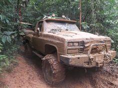 Mud Muddy Trucks, 4x4 Trucks, Lifted Trucks, Cool Trucks, Tonka Trucks, Dodge Ram Diesel, Chevy Diesel Trucks, Chevrolet Trucks, 1957 Chevrolet