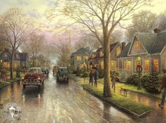 Thomas-Kinkade.el pintor de la luz.