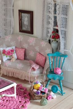Miniature living room