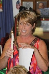 Eternal Flame Ceremony .... A great blog for Girl Scout leaders.