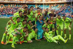 Αθλητικές ειδήσεις για την Πριμέρα Ντιβιζιόν, εκεί όπου η Μπαρτσελόνα στέφθηκε πρωταθλήτρια Ισπανίας για την περίοδο 2014-2015.