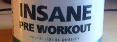 Review: Insane! Pre-Workout Booster von Body & Fit im Test