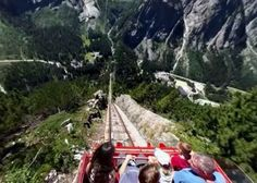 Those looking for an adrenaline shot will get it here! A gradient of maximum makes this the steepest funicular in Europe. Travel List, Time Travel, Another Earth, Switzerland Vacation, Best Family Vacations, Europe Destinations, Beautiful Places In The World, Weekend Trips, Vacation Spots