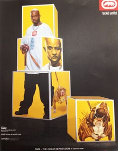 DMX in early 2000 reppin' Marc Ecko