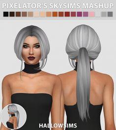 Pixelator's Skysims Mashup at Hallow Sims • Sims 4 Updates