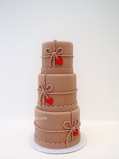 Valentine Mini cake by PiaMarianne, via Flickr