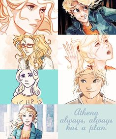 The different styles of annabeth chase