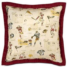 Vintage Themed Varsity Sports Bedding and Room Decor by familybedding.com, via Flickr