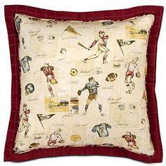 Vintage Themed Varsity Sports Bedding and Room Decor by familybedding.com, via Flickr