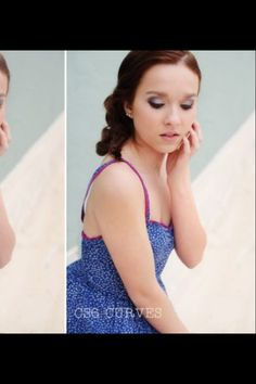 A section of an edit by Melissa Sigler Photography.  Classically chic hair and makeup.