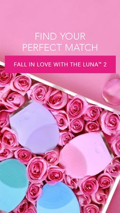 Fall in love with the LUNA™ 2, now personalized for 4 different skin types. Find your perfect match: www.foreo.com