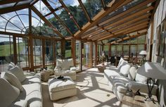 This is the conservatory I must have! Conservatory, Georgian, My Dream Home, Patio, Elegant, Gallery, Interior, Outdoor Decor, House