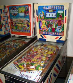 "1964 Majorettes ""Gottlieb "" Pinball Machine"