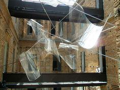 Iole de Freitas installation (instalação) , Pinacoteca, Sao Paulo, Brazil by hanneorla, via Flickr