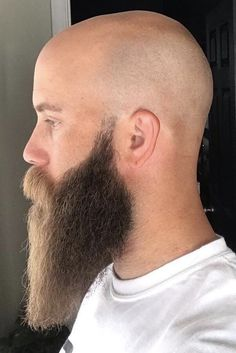 Finding The Best Short Haircuts For Men Beards And Mustaches, Bald Men With Beards, Bald With Beard, Long Beards, Beard Love, Different Beard Styles, Long Beard Styles, Hair And Beard Styles, Celebrity Haircuts