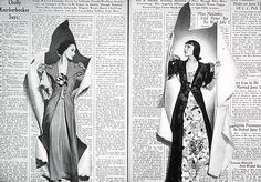 Spread from the June 1938 issue of Bazaar. Pages 92-93. Photographer: Hoyningen-Huene. Alexey Brodovitch (AD)