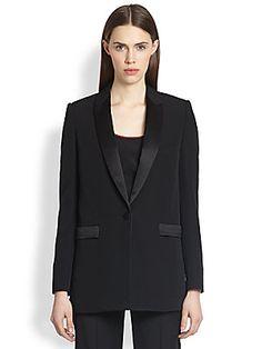 Givenchy Wool Tuxedo Jacket & Wool Tuxedo Trousers 2014