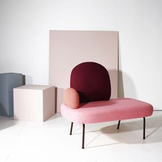 """Despite its saturation in 2017, the """"millennial pink"""" trend has shown no signs of slowing. This year, keep things up to date by pairing your pastel pinks with some darker berry tones. Using different shades from the same colour family will give a sense of depth to the scheme. Image: norwegianstructure.com #interior #design #trend #millennial #pink #blush #pastel #decor #decorating #home #berry #burgundy #cabernet #maroon #colour #scheme"""