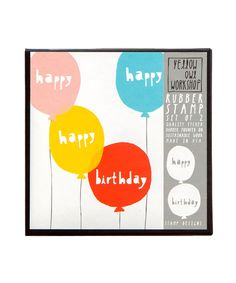 Birthday Balloons Stamp Set – Oh Happy Day Shop