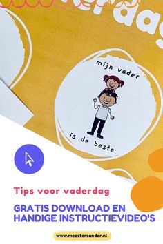 Knutseltips voor vaderdag - Onder, midden en bovenbouw - MeesterSander.nl Chart, Projects, Log Projects, Blue Prints