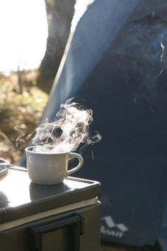 Always been a fan of capturing the steam from a coffee cup, its a comfort thing