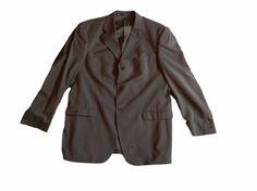 Reiss London Wool Taupe Mens Dress Jacket Blazer - SZ 44 REGULAR #Reiss #ThreeButton