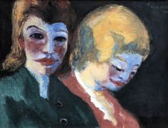 Emil Nolde (1867-1956)Two Sisters (1936)