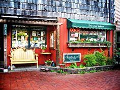 Clouds & Leaf bookstore. Manzanita, Oregon