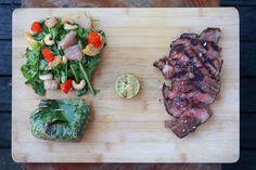 Steak and Thai Salad