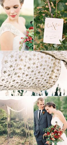 Berry Farm Wedding Photo Shoot from Green Apple Photography